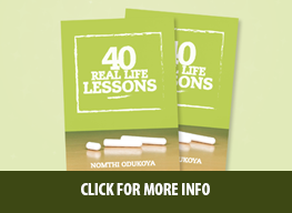 40 Life Real Lessons Book